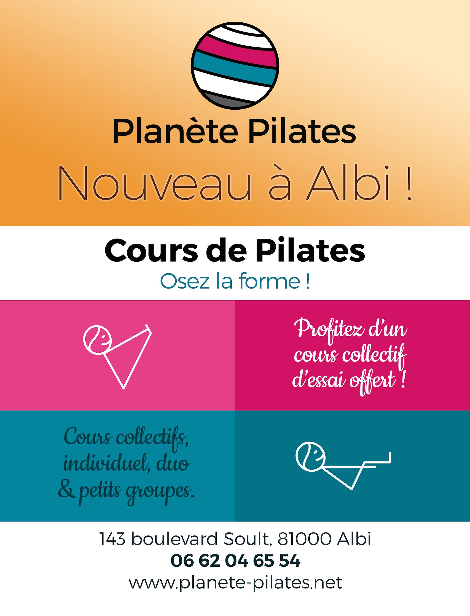 Affiche Planète Pilates
