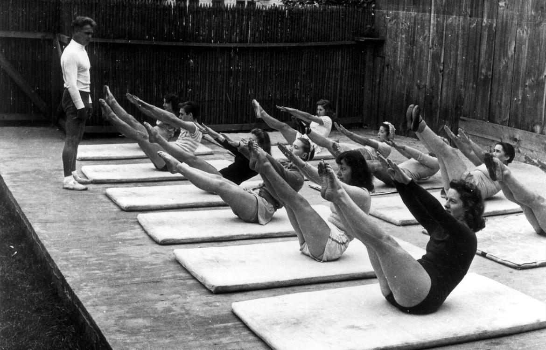 Pilates cours de groupe